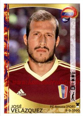 Panini Copa America Centenario USA 2016 Stickers - N° 287 - Jose VELAZQUEZ (Venezuela)