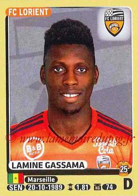 2015-16 - Panini Ligue 1 Stickers - N° 173 - Lamine CASSAMA (FC Lorient)
