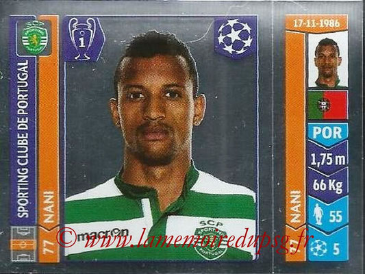 2014-15 - Panini Champions League N° 535 - NANI (Sporting Club de Portugal)