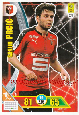 2017-18 - Panini Adrenalyn XL Ligue 1 - N° 276 - Sanjin PRCIC (Rennes)