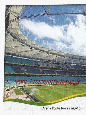 2014 - Panini FIFA World Cup Brazil Stickers - N° 028 - Arena Fonte Nova - Salvador (1)