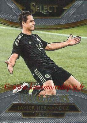 2015 - Panini Select Soccer - N° E12 - Javier HERNANDEZI (Mexique) (Equalizers)