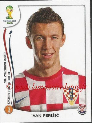 2014 - Panini FIFA World Cup Brazil Stickers - N° 065 - Ivan PERISIC (Croatie)