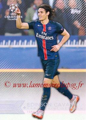 2015-16 - Topps UEFA Champions League Showcase Soccer - N° 007 - Edinson CAVANI (Paris Saint-Germain)