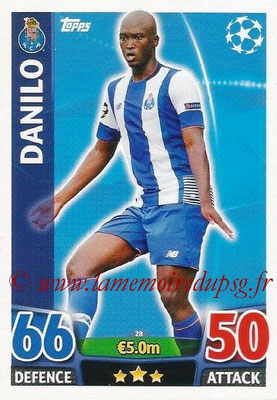 2015-16 - Topps UEFA Champions League Match Attax - N° 028 - DANILO (FC Porto)
