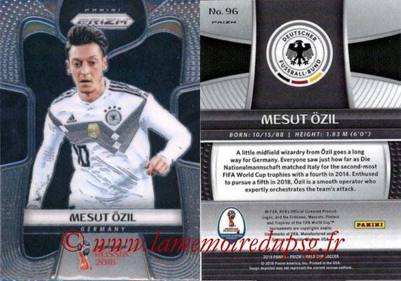 2018 - Panini Prizm FIFA World Cup Russia - N° 096 - Mesut OZIL (Allemagne)
