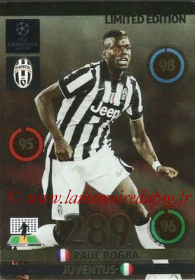 2014-15 - Adrenalyn XL champions League N° LE-PP - Paul POGBA (Juventus FC) (Limited Edition)