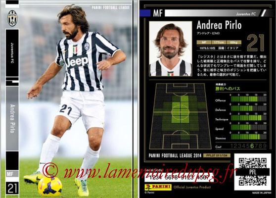 Panini Football League 2014 - PFL07 - N° 011 - Andrea PIRLO (Juventus FC)