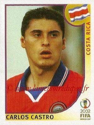 2002 - Panini FIFA World Cup Stickers - N° 230 - Carlos CASTRO (Costa Rica)