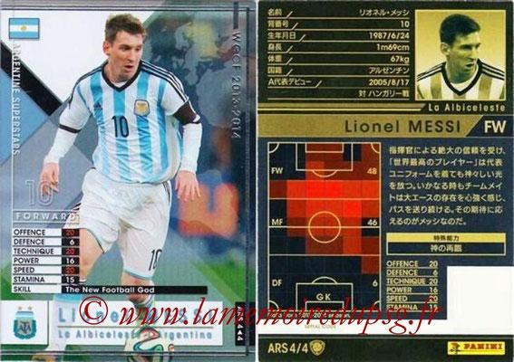 2013-14 - WCCF - N° ARS4 - Lionel MESSI (Argentine) (Argentine Superstars)