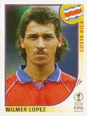 2002 - Panini FIFA World Cup Stickers - N° 233 - Wilmer LOPEZ (Costa Rica)