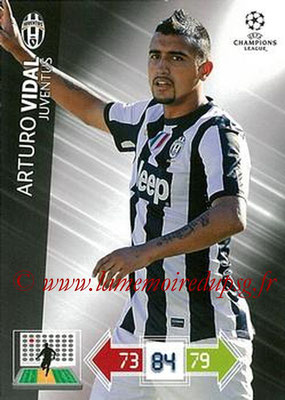 2012-13 - Adrenalyn XL champions League N° 116 - Arturo VIDAL (Juventus FC)