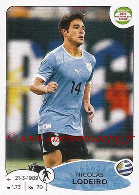 2014 - Panini Road to FIFA World Cup Brazil Stickers - N° 084 - Nicolas LODEIRO (Uruguay)