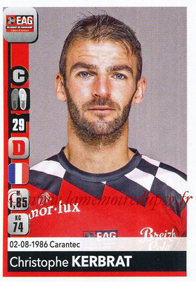 2018-19 - Panini Ligue 1 Stickers - N° 130 - Christophe KERBRAT (Guingamp)