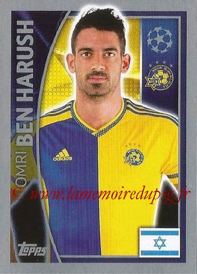2015-16 - Topps UEFA Champions League Stickers - N° 497 - Omri BEN HARUSH (Maccabi Tel-Aviv FC)