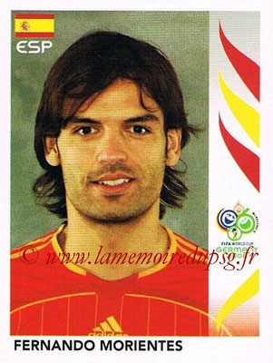 2006 - Panini FIFA World Cup Germany Stickers - N° 547 - Fernando MORIENTES (Espagne)