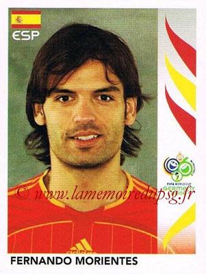 2006 - Panini FIFA World Cup Germany Stickers - N° 547 - Fernando MORIENTES (Espagne)