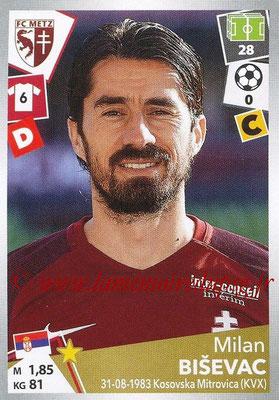 2017-18 - Panini Ligue 1 Stickers - N° 238 - Milan BISEVAC (Metz)
