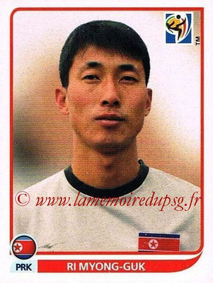2010 - Panini FIFA World Cup South Africa Stickers - N° 507 - RI MYONG-GUK (Corée du Nord)