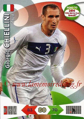 2014 - Panini Road to FIFA World Cup Brazil Adrenalyn XL - N° 120 - Giorgio CHIELLINI (Italie)