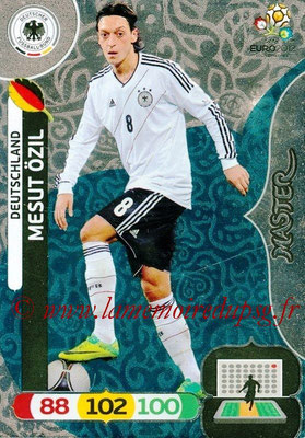 Panini Euro 2012 Cards Adrenalyn XL - N° 279 - Mesut ÖZIL (Allemagne) (Master)