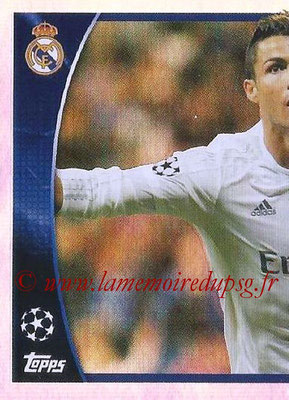 2015-16 - Topps UEFA Champions League Stickers - N° 616 - Cristiano Ronaldo (puzzle 1) (UEFA Champions League Most Goals)