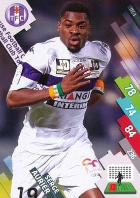 N° 269 - TFC-03 - Serge AURIER (Toulouse > 2014-15, PSG)
