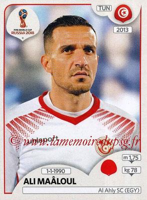 2018 - Panini FIFA World Cup Russia Stickers - N° 555 - Ali MAÂLOUL (Tunisie)