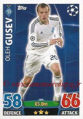 2015-16 - Topps UEFA Champions League Match Attax - N° 297 - Oleh GUSEV (FC Dynamo Kiev)