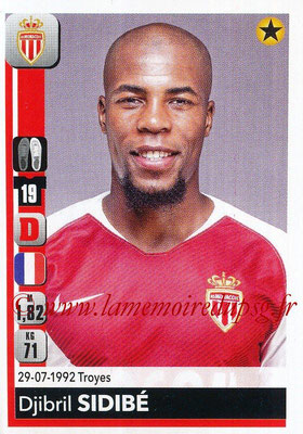 2018-19 - Panini Ligue 1 Stickers - N° 233 - Djibril SIDIBE (Monaco)