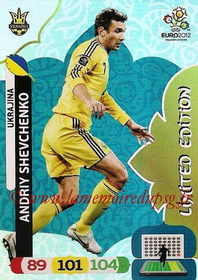 Panini Euro 2012 Cards Adrenalyn XL - N° LE53 - Andriy SHEVCHENKO (Ukraine) ( Limited Edition)