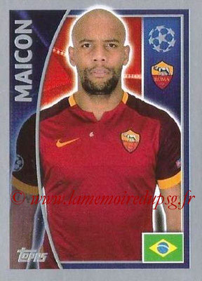 2015-16 - Topps UEFA Champions League Stickers - N° 337 - MAICON (AS Roma)