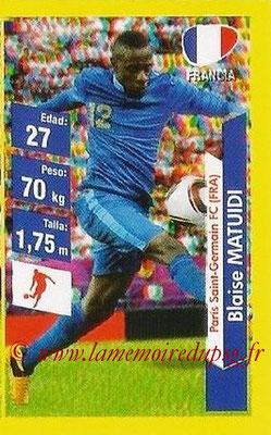 N° 158 - Blaise MATUIDI (2011-??, PSG > 2014, France)