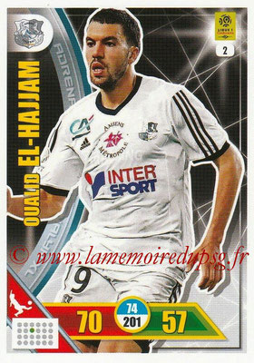 2017-18 - Panini Adrenalyn XL Ligue 1 - N° 002 - Oualid EL HAJJAM (Amiens)