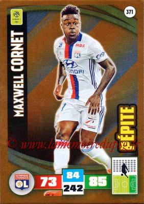 2016-17 - Panini Adrenalyn XL Ligue 1 - N° 371 - Maxwel CORNET (Lyon) (Pepite)