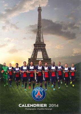 Calendrier  PSG  2014