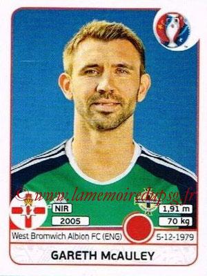Panini Euro 2016 Stickers - N° 327 - Gareth McAULEY (Irlande du Nord)