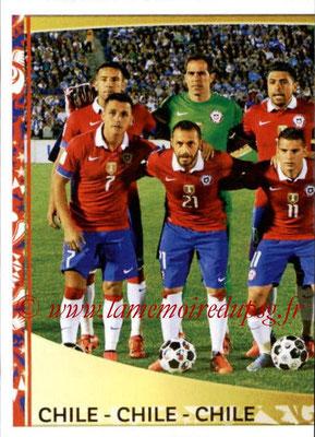 Panini Copa America Centenario USA 2016 Stickers - N° 327 - Equipe Chili1