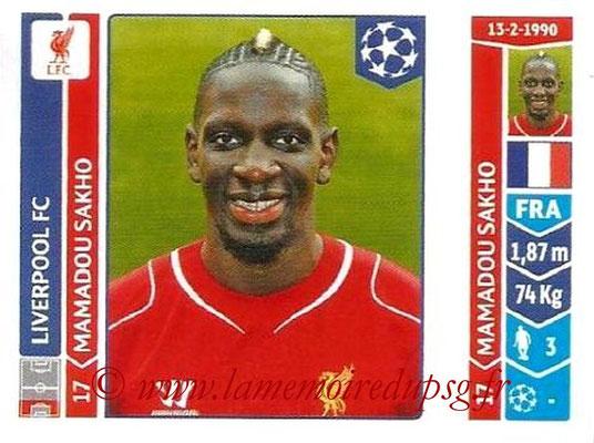 N° 156 - Mamadou SAKHO (2007-2013, PSG > 2013-14, Liverpool, ANG)