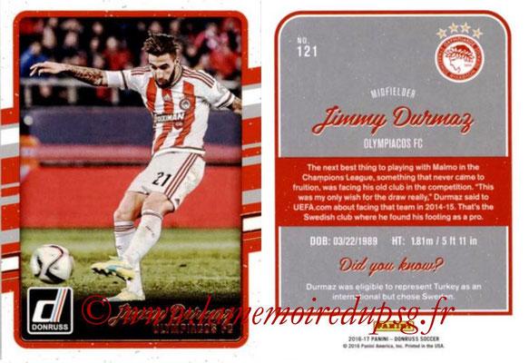 2016 - Panini Donruss Cards - N° 121 - Jimmy DURMAZ (Olympiacos FC)