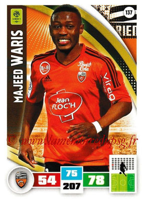 2016-17 - Panini Adrenalyn XL Ligue 1 - N° 137 - Majeed WARIS (Lorient)