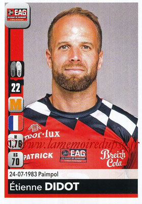 2018-19 - Panini Ligue 1 Stickers - N° 139 - Etienne DIDOT (Guingamp)