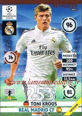2014-15 - Adrenalyn XL champions League Update edition N° UE112 - Toni KROOS (Real Madrid) (Key Player)