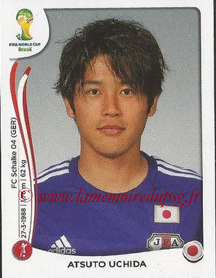 2014 - Panini FIFA World Cup Brazil Stickers - N° 246 - Atsuto UCHIDA (Japon)