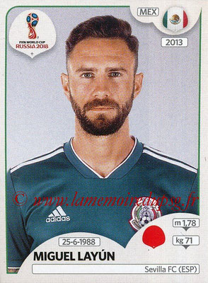 2018 - Panini FIFA World Cup Russia Stickers - N° 459 - Miguel LAYUN (Mexique)