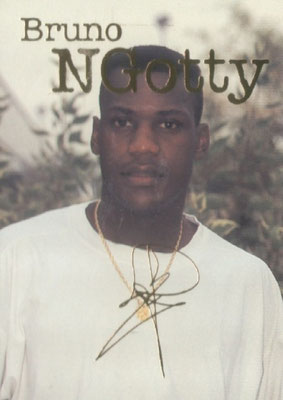 N° 022 - Bruno N'GOTTY (Recto)