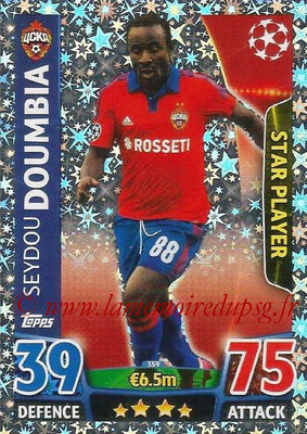 2015-16 - Topps UEFA Champions League Match Attax - N° 359 - Seydou DOUMBIA (CSKA Moscou) (Star Player)