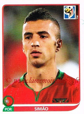 2010 - Panini FIFA World Cup South Africa Stickers - N° 558 - SIMAO (Portugal)