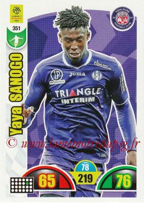 2018-19 - Panini Adrenalyn XL Ligue 1 - N° 351 - Yaya SANOGO (Toulouse)