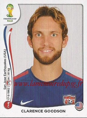 2014 - Panini FIFA World Cup Brazil Stickers - N° 550 - Clarence GOODSON (Etats-Unis)